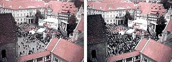 Schröder und der Braunschweiger Burgplatz