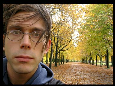 Ich im Herbst.
